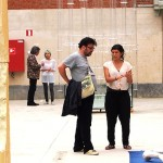 Jury Damien De Lepeleire and Master Maika Garnica