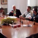 Jury, Marc Ruyters, René Huybrechts, Koen Leemans and Eric Ubben