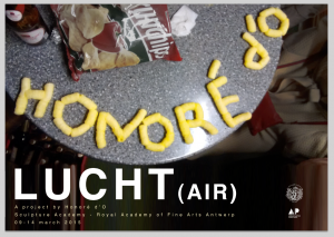 Project Lucht (air) Honoré d'O, 2015